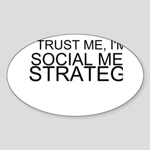 Trust Me, I'm A Social Media Strategist Sticker