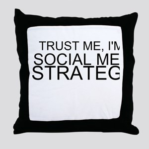 Trust Me, I'm A Social Media Strategist Throw Pill
