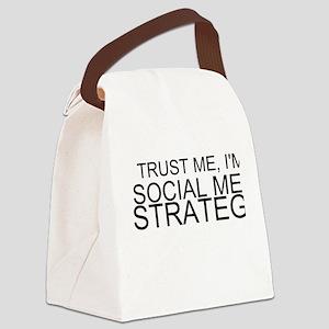 Trust Me, I'm A Social Media Strategist Canvas Lun