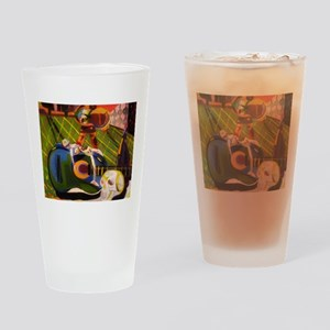 Fragmented Life Drinking Glass