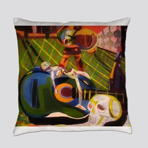 Fragmented Life Everyday Pillow