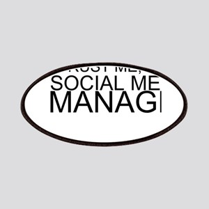 Trust Me, I'm A Social Media Manager Patch