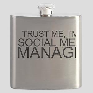 Trust Me, I'm A Social Media Manager Flask