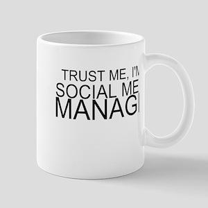 Trust Me, I'm A Social Media Manager Mugs