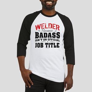 Badass Welder Baseball Jersey