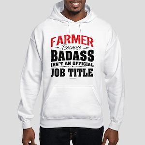 Badass Farmer Hooded Sweatshirt