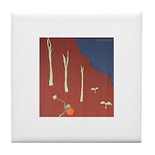 Autumn Veggies Tile Coaster
