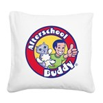Afterschool Buddy Square Canvas Pillow