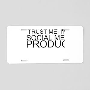 Trust Me, I'm A Social Media Producer Aluminum Lic