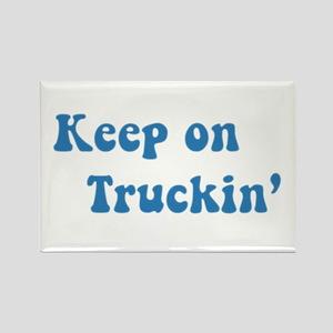 Keep on Truckin' Rectangle Magnet