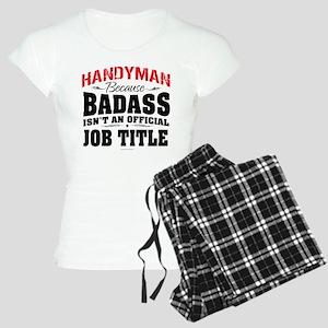 Badass Handyman Women's Light Pajamas