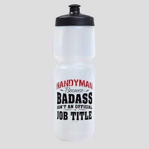 Badass Handyman Sports Bottle