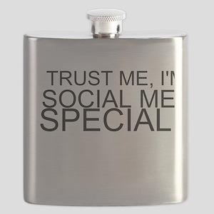 Trust Me, I'm A Social Media Specialist Flask