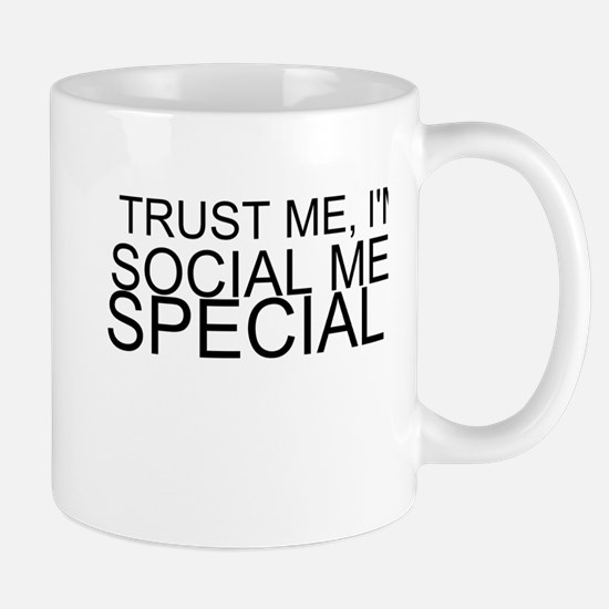 Trust Me, I'm A Social Media Specialist Mugs