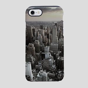 New York Skyscraper Vintage iPhone 8/7 Tough Case