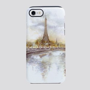 Eiffel Tower Painting iPhone 8/7 Tough Case
