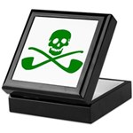 Leprechaun Pirate Treasure Chest Keepsake Box