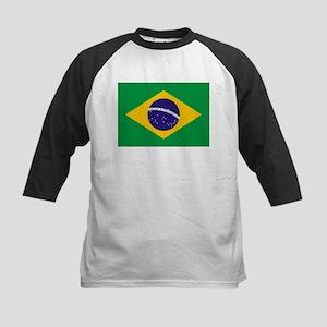 Brazilian Brazil Flag Baseball Jersey