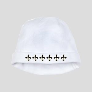 Fleur De Lis Flock baby hat
