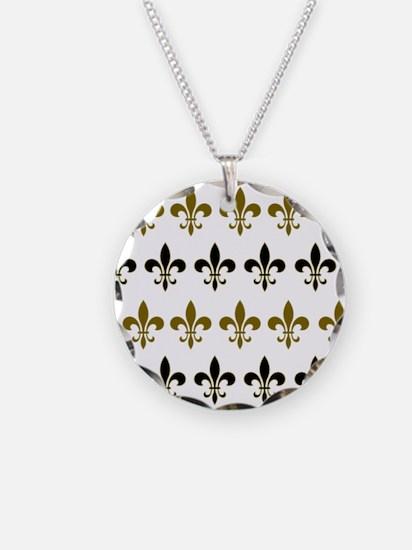 Fleur De Lis Flock Necklace