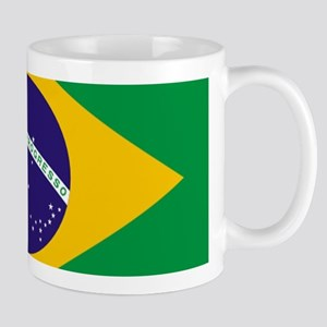 Brazilian Brazil Flag Mugs