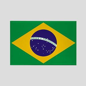 Brazilian Brazil Flag Magnets