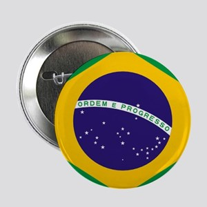 "Brazilian Brazil Flag 2.25"" Button"