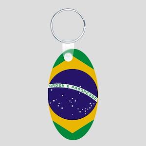 Brazilian Brazil Flag Keychains