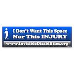 Don't Want Space Nor Injury(bumper) Bumper Sti