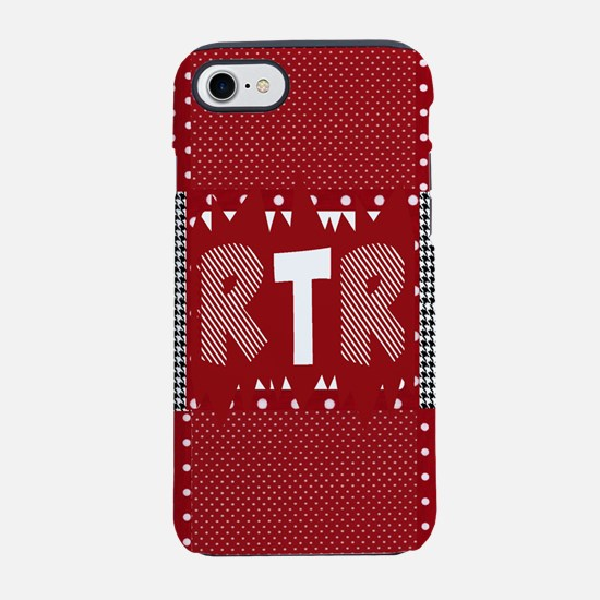 RTR houndstooth iPhone 8/7 Tough Case