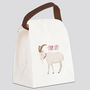 Farm Life Canvas Lunch Bag