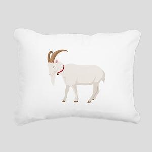 Goat Rectangular Canvas Pillow