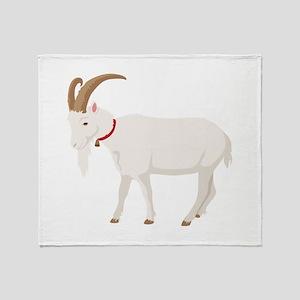 Goat Throw Blanket