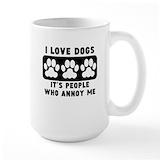 Animals Large Mugs (15 oz)