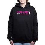 Harmony Rocks Pink Logo Women's Hooded Sweatsh