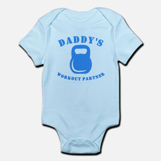 Daddys Workout Partner Body Suit