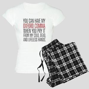 Oxford Comma Humor Women's Light Pajamas