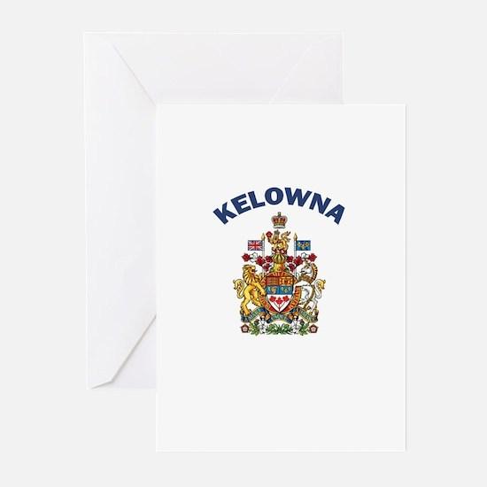 Kelowna Coat of Arms Greeting Cards (Pk of 10)