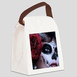 Oval framed face Canvas Lunch Bag