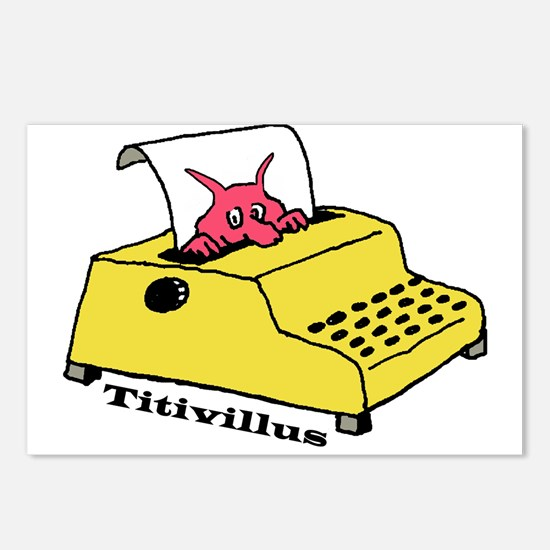 Titivillus, the Typo Mons Postcards (Package of 8)