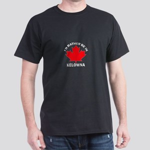 I'd Rather be in Kelowna Dark T-Shirt