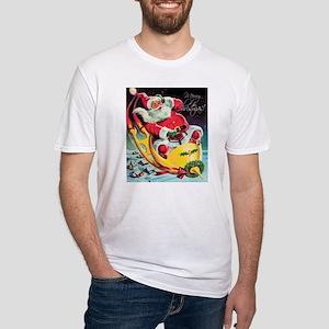 Santa Claus Rocket T-Shirt