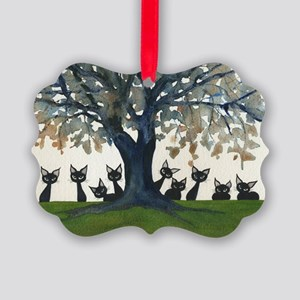 Zibo Stray Cats Picture Ornament