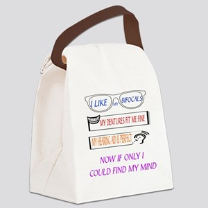 SENIOR MOMENTS - IF ONLY I COULD  Canvas Lunch Bag