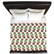 Odie The Stupid King Duvet