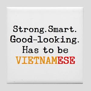 be vietnamese Tile Coaster