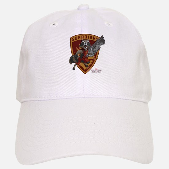 GOTG Animated Rocket Badge Baseball Baseball Cap