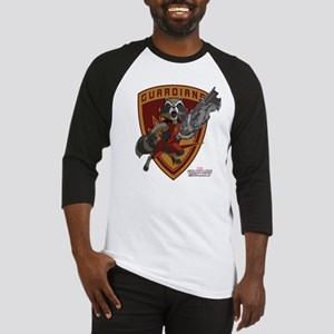GOTG Animated Rocket Badge Baseball Jersey