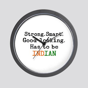 be indian Wall Clock