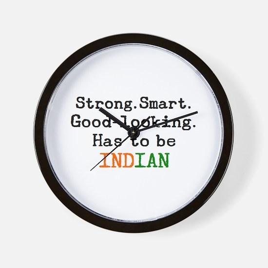 be indian Wall Clock